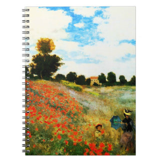 Claude Monet-Poppies at Argenteuil Notebooks