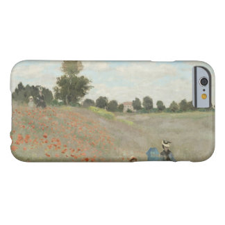 Claude Monet - Poppy Field Barely There iPhone 6 Case