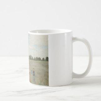 Claude Monet - Poppy Field Coffee Mug