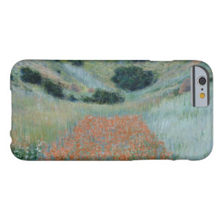 Claude Monet - Poppy Field in a Hollow near Givern Barely There iPhone 6 Case