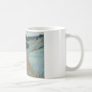 Claude Monet - Poppy Field in a Hollow near Givern Coffee Mug