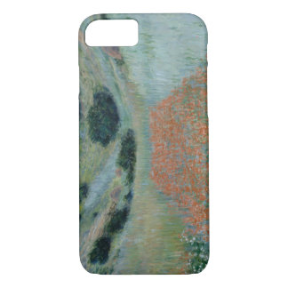 Claude Monet - Poppy Field in a Hollow near Givern iPhone 7 Case