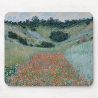 Claude Monet - Poppy Field in a Hollow near Givern Mouse Pad