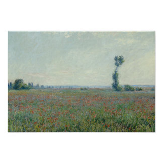 Claude Monet - Poppy Field Poster