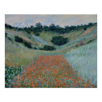 Claude Monet ~ Poppy Field Poster
