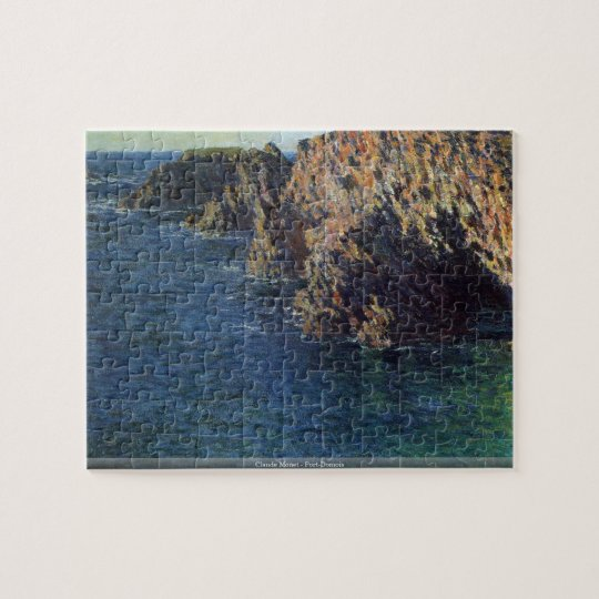 Claude Monet - Port-Domois Jigsaw Puzzle