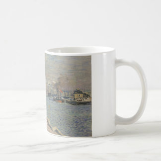 Claude Monet - Port of Le Havre Coffee Mug