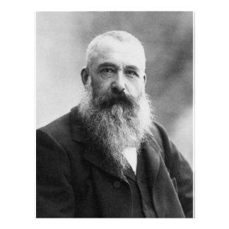 Claude Monet Portrait Photo Flyer