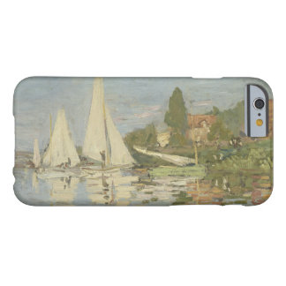 Claude Monet - Regattas at Argenteuil Barely There iPhone 6 Case