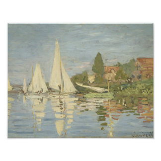 Claude Monet - Regattas at Argenteuil Photo Print