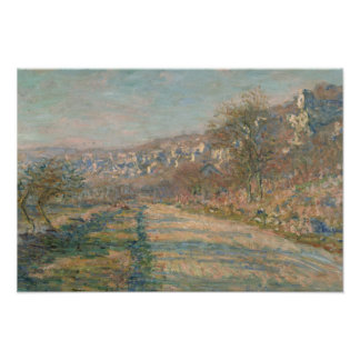 Claude Monet - Road of La Roche-Guyon Poster