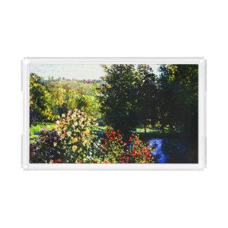 Claude Monet-Roses in the Garden at Montgeron