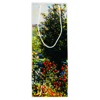Claude Monet-Roses in the Garden at Montgeron Wine Gift Bag