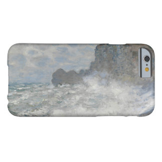 Claude Monet - Rough Weather at Étretat Barely There iPhone 6 Case