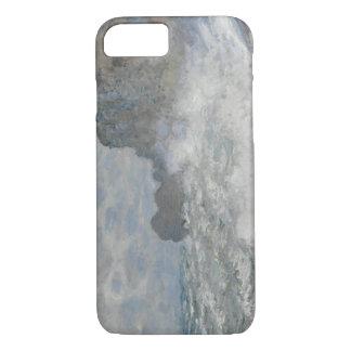 Claude Monet - Rough Weather at Étretat iPhone 7 Case