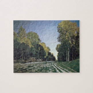 Claude Monet | Route de Chailly, Fontainebleau Jigsaw Puzzle