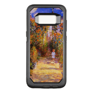 Claude Monet-'s Garden at Vétheuil OtterBox Commuter Samsung Galaxy S8 Case
