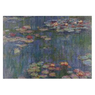 Claude Monet's Water Lilies Cutting Board