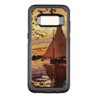 Claude Monet-Sailboat at Le Petit-Gennevilliers OtterBox Commuter Samsung Galaxy S8 Case