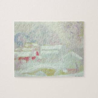 Claude Monet | Sandviken, Norway Jigsaw Puzzle
