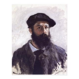 Claude Monet - Self-portrait in Beret Custom Flyer