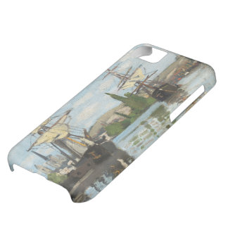 Claude Monet | Ships Riding on the Seine at Rouen iPhone 5C Case