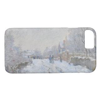 Claude Monet - Snow Scene at Argenteuil iPhone 8/7 Case