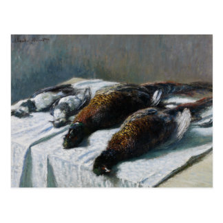 Claude Monet - Still Life with Pheasants Postcard
