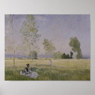 Claude Monet - Summer Poster