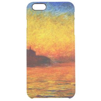 Claude Monet-Sunset in Venice Clear iPhone 6 Plus Case