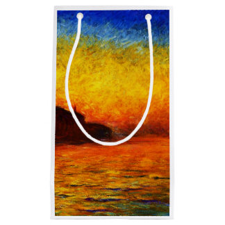 Claude Monet-Sunset in Venice Small Gift Bag
