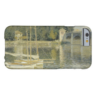 Claude Monet - The Argenteuil Bridge Barely There iPhone 6 Case