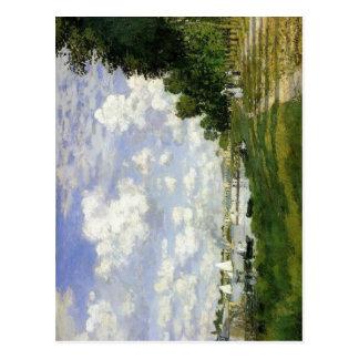 Claude Monet The Basin at Argenteuil 1872 Techniqu Postcard
