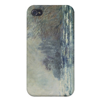 Claude Monet | The Break up at Vetheuil, c.1883 iPhone 4/4S Covers