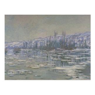 Claude Monet - The Break-up of the Ice Postcard