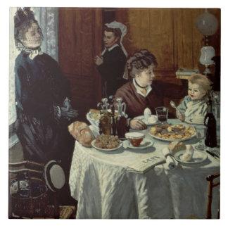 Claude Monet | The Breakfast Tile