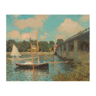 Claude Monet The Bridge At Argenteuil Fine Art