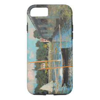 Claude Monet The Bridge At Argenteuil Vintage Art iPhone 7 Case