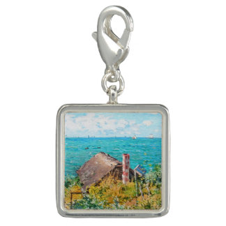 Claude Monet The Cabin At Saint-Adresse Fine Art