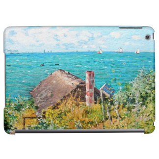 Claude Monet The Cabin At Saint-Adresse Fine Art Case For iPad Air