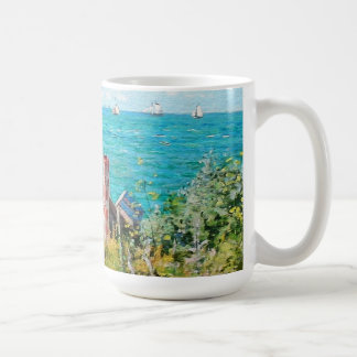 Claude Monet The Cabin At Saint-Adresse Fine Art Coffee Mug