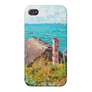 Claude Monet The Cabin At Saint-Adresse Fine Art Cover For iPhone 4