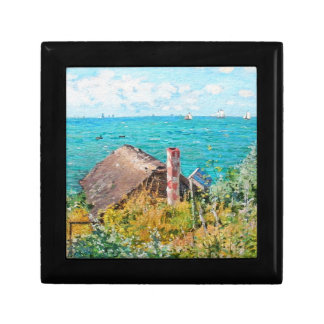 Claude Monet The Cabin At Saint-Adresse Fine Art Gift Box