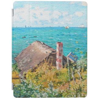 Claude Monet The Cabin At Saint-Adresse Fine Art iPad Cover