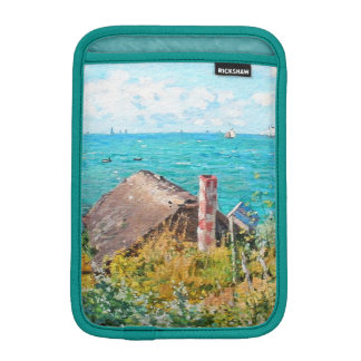 Claude Monet The Cabin At Saint-Adresse Fine Art iPad Mini Sleeves