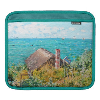 Claude Monet The Cabin At Saint-Adresse Fine Art iPad Sleeve