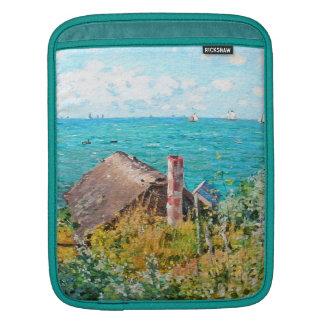 Claude Monet The Cabin At Saint-Adresse Fine Art iPad Sleeves