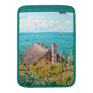 Claude Monet The Cabin At Saint-Adresse Fine Art MacBook Air Sleeve