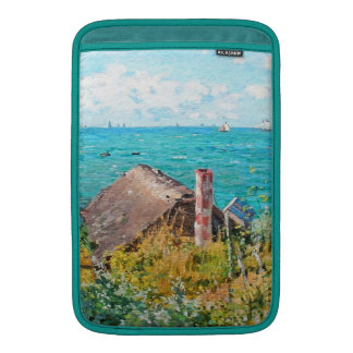 Claude Monet The Cabin At Saint-Adresse Fine Art MacBook Sleeve