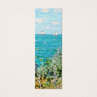 Claude Monet The Cabin At Saint-Adresse Fine Art Mini Business Card